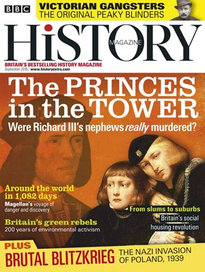 BBC History Magazine | 9/2019 Cover