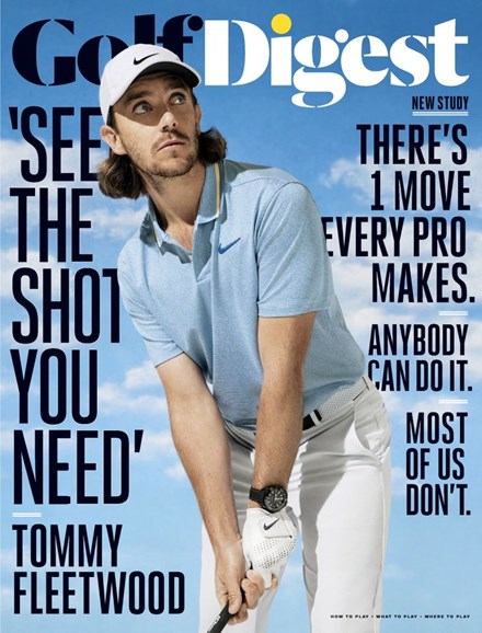 Golf Digest Cover - 9/1/2019