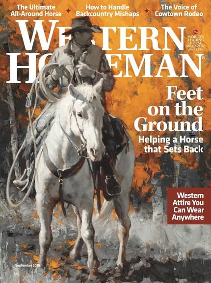 Western Horseman Cover - 9/1/2019