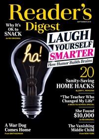 Reader's Digest Magazine | 9/2019 Cover