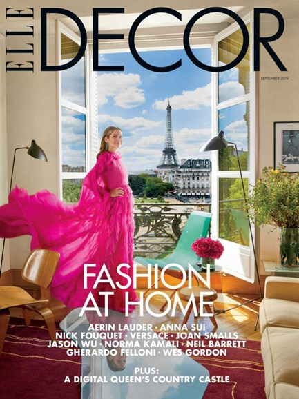 ELLE DECOR Cover - 9/1/2019
