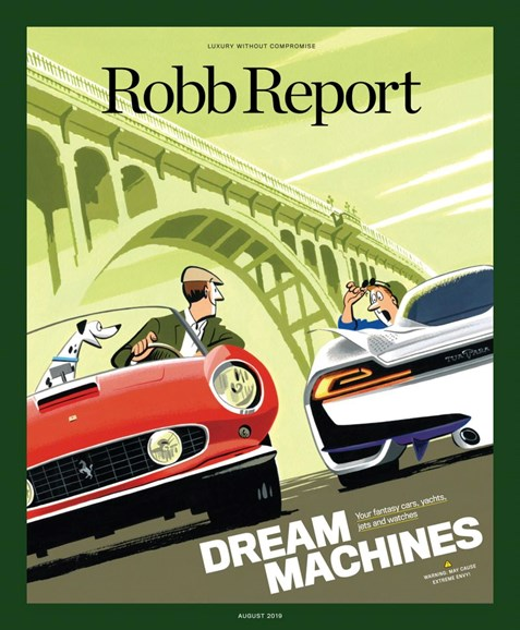 Robb Report Cover - 8/1/2019