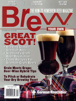 Brew Your Own | 9/2019 Cover