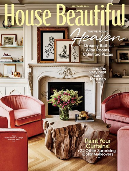 House Beautiful Cover - 9/1/2019