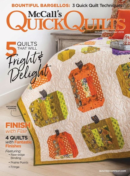 McCall's Quick Quilts Cover - 10/1/2019
