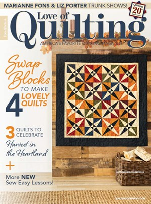 Fons & Porter's Love of Quilting | 9/2019 Cover