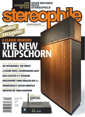 Stereophile | 9/2019 Cover