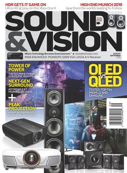 Sound & Vision Cover - 8/1/2019