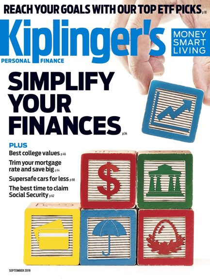 Kiplinger's Personal Finance Cover - 9/1/2019