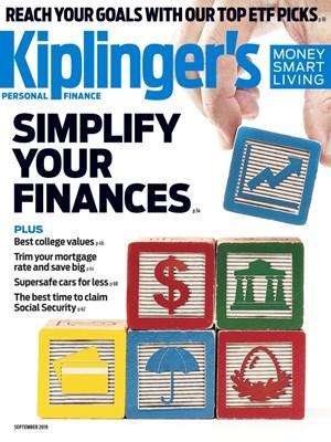 Kiplinger's Personal Finance Magazine | 9/2019 Cover