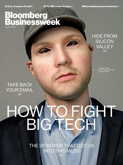 Bloomberg Businessweek Cover - 8/12/2019