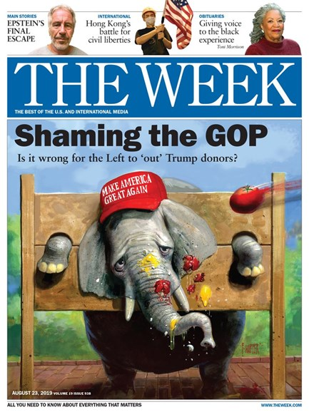 The Week Cover - 8/23/2019