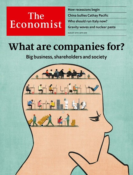 The Economist Cover - 8/24/2019