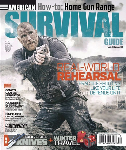 American Survival Guide Cover - 10/1/2019