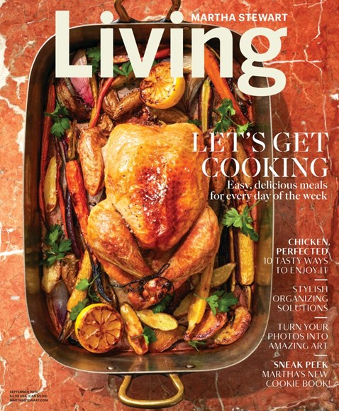 Martha Stewart Living Cover - 9/1/2019