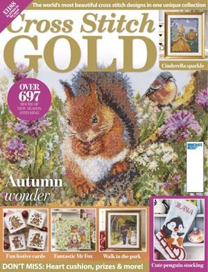 Cross Stitch Gold Magazine | 9/2019 Cover