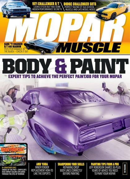 Mopar Muscle Cover - 11/1/2019