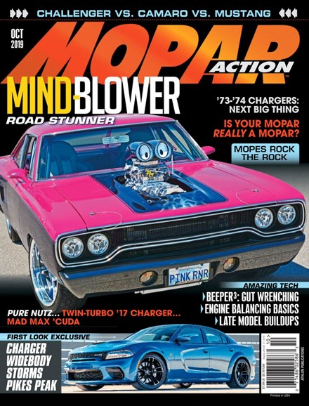 Mopar Action Cover - 10/1/2019