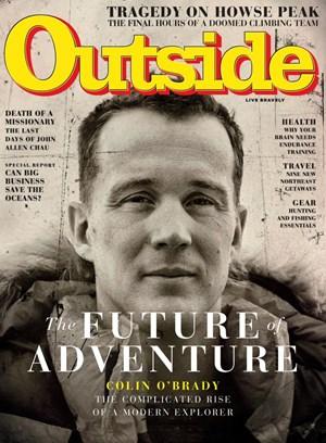 Outside Magazine   9/2019 Cover