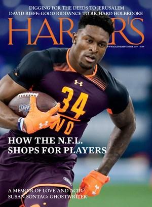 Harper's Magazine   9/2019 Cover