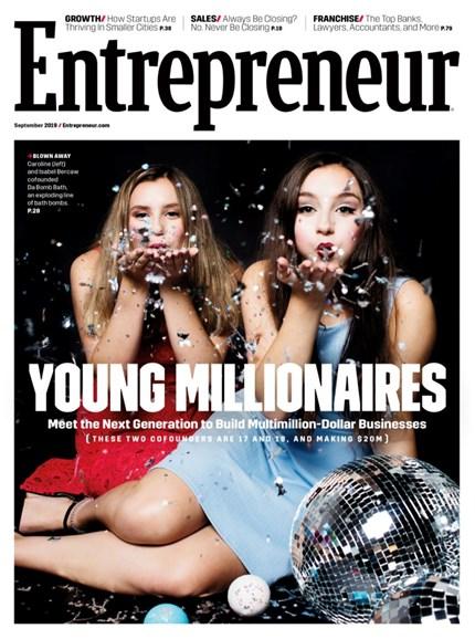 Entrepreneur Cover - 9/1/2019