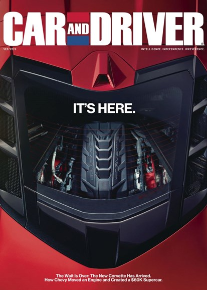Car And Driver Cover - 9/1/2019