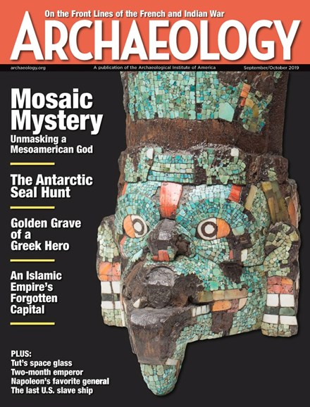 Archaeology Cover - 9/1/2019