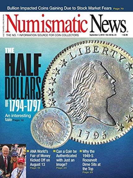 Numismatic News Cover - 9/3/2019