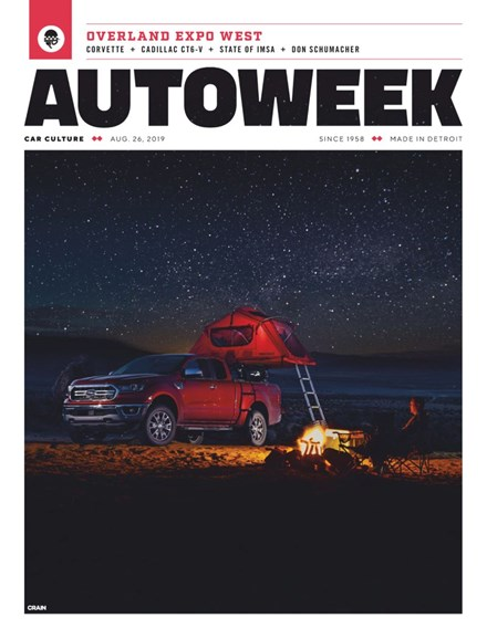 Autoweek Cover - 8/26/2019