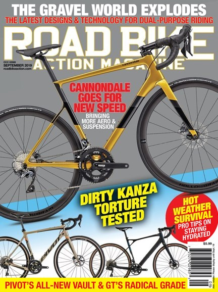 Road Bike Action Cover - 9/1/2019