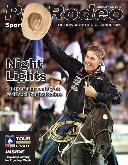 Pro Rodeo Sports News Cover - 8/23/2019