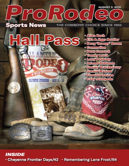 Pro Rodeo Sports News Cover - 8/2/2019