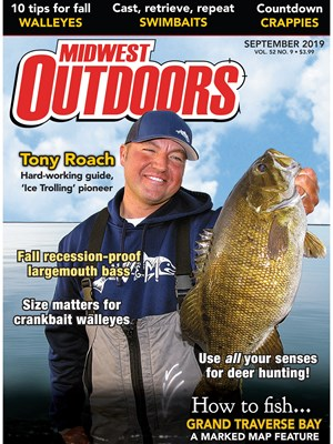 Midwest Outdoors Magazine | 9/2019 Cover