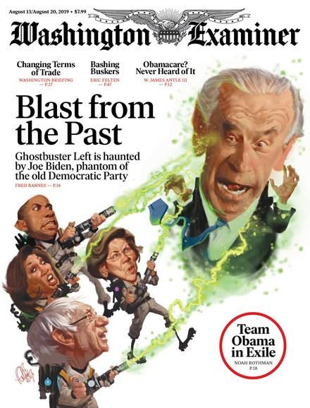 Washington Examiner Cover - 8/13/2019