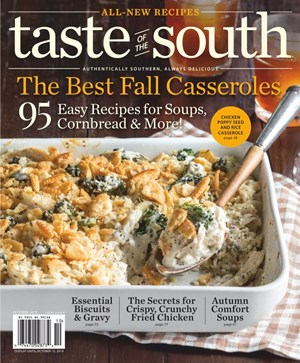 Taste Of The South Magazine | 10/2019 Cover