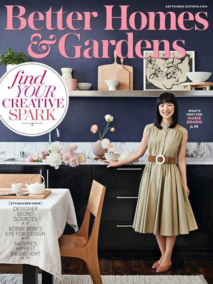 Better Homes & Gardens Cover - 9/1/2019