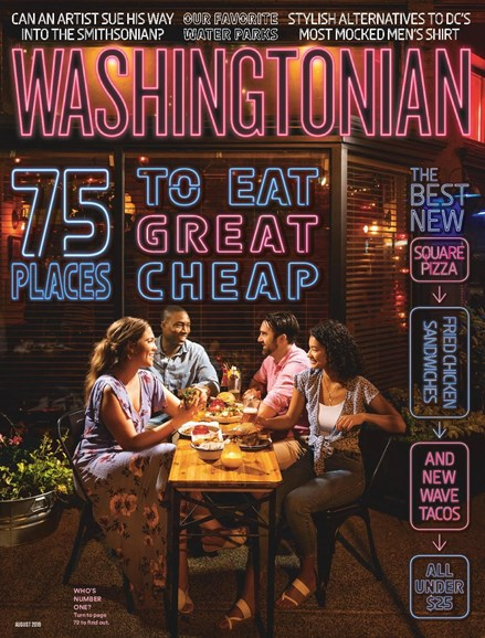 Washingtonian Cover - 8/1/2019