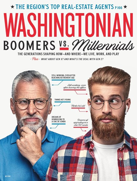 Washingtonian Cover - 7/1/2019