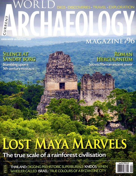 Current World Archaeology Cover - 8/1/2019