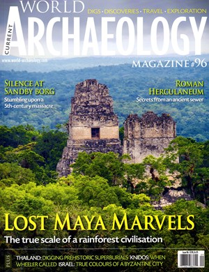 Current World Archaeology Magazine | 8/2019 Cover