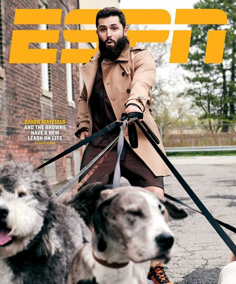 ESPN The Magazine Cover - 9/1/2019