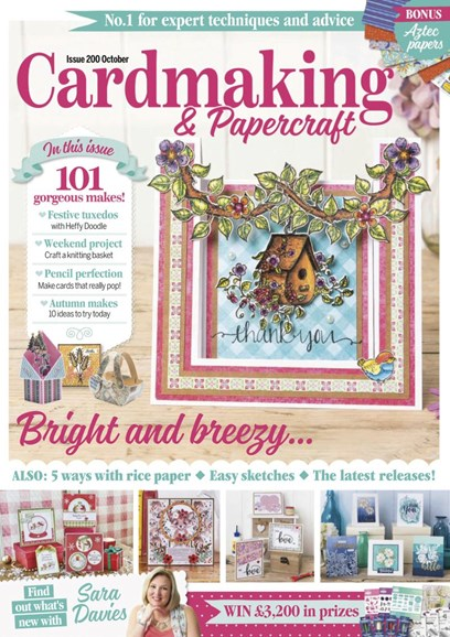 CardMaking & PaperCrafts Cover - 10/1/2019