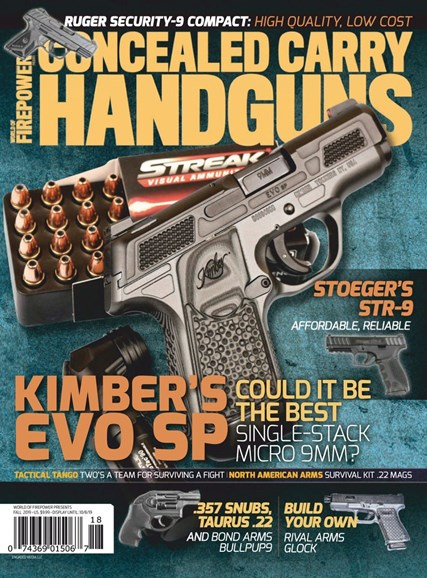 Concealed Carry Handguns Cover - 9/1/2019
