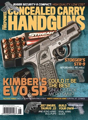 Concealed Carry Handguns | 9/2019 Cover