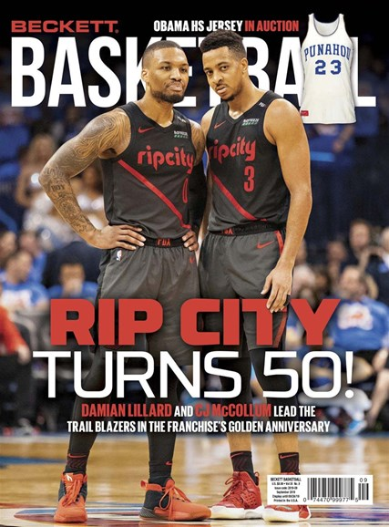 Beckett Basketball Cover - 9/1/2019