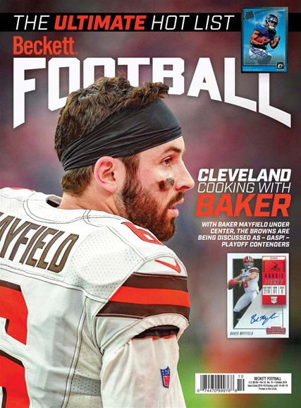 Beckett Football Cover - 10/1/2019