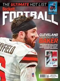 Beckett Football  Magazine | 10/2019 Cover