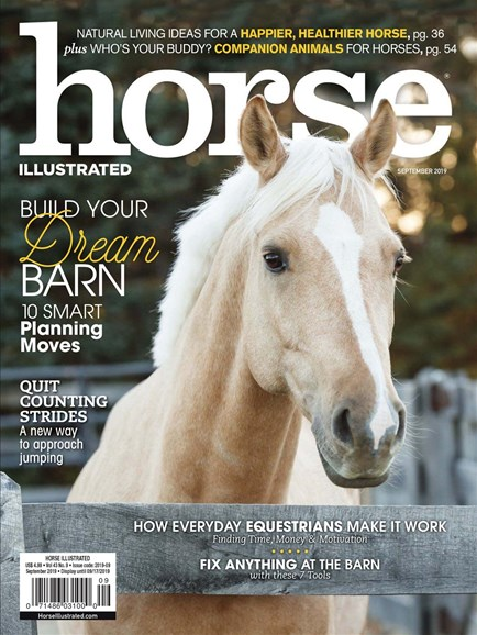 Horse Illustrated Cover - 9/1/2019