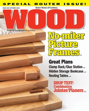 Wood Magazine | 10/1/2019 Cover
