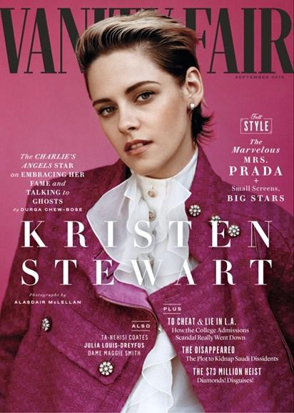 Vanity Fair Cover - 9/1/2019